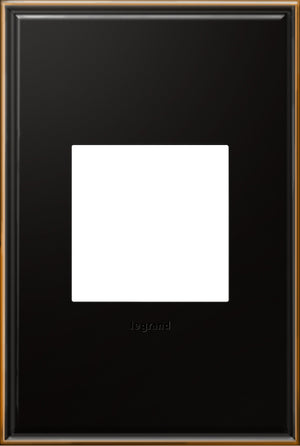 Legrand - AWC1G2OB4 - 1-Gang Wall Plate - Cast Metals - Oil-Rubbed Bronze