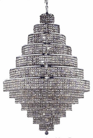 Elegant Lighting - 2039G42C-GT/SS - 38 Light Chandelier - Maxime - Chrome