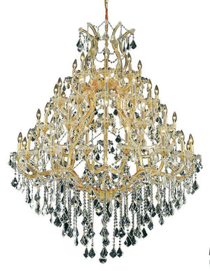 Elegant Lighting - 2800G46G/SS - 49 Light Chandelier - Maria Theresa - Gold