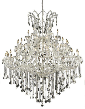 Elegant Lighting - 2800G60C/EC - 49 Light Chandelier - Maria Theresa - Chrome