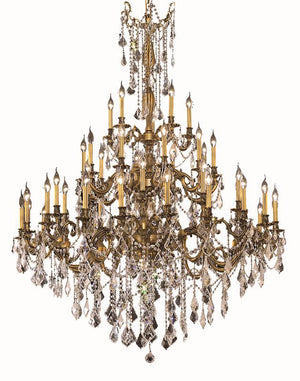Elegant Lighting - 9245G54FG/SS - 45 Light Chandelier - Rosalia - French Gold