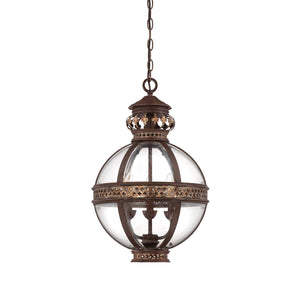 Savoy House - 7-1480-3-124 - Three Light Pendant - Strasbourg - Fiesta Bronze