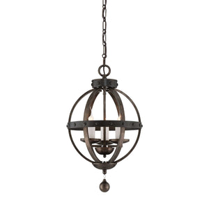 Savoy House - 7-9541-3-196 - Three Light Pendant - Alsace - Reclaimed Wood