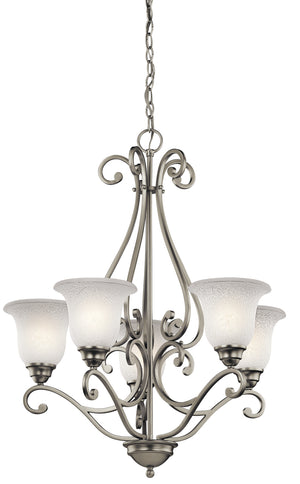 Kichler - 43224NI - Five Light Chandelier - Camerena - Brushed Nickel