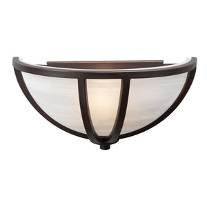 PLC Lighting - 14860 ORB - One Light Wall Sconce - Highland - Oil Rubbed Bronze
