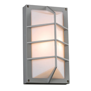PLC Lighting - 2400 SL - One Light Outdoor Fixture - Expo - Silver