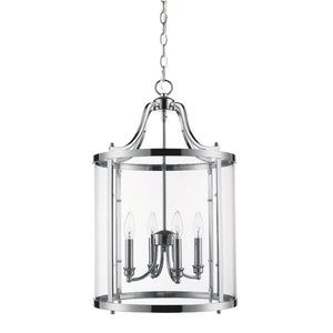 Golden - 1157-4P CH - Four Light Pendant - Payton CH - Chrome