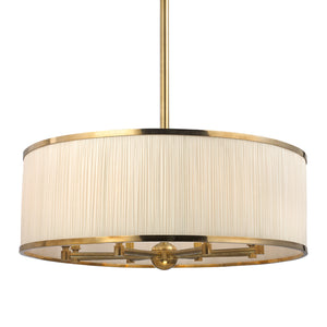 Hudson Valley - 5230-AGB - Eight Light Chandelier - Hastings - Aged Brass