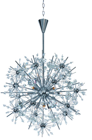 Maxim - 39745BCPC - 11 Light Chandelier - Starfire - Polished Chrome