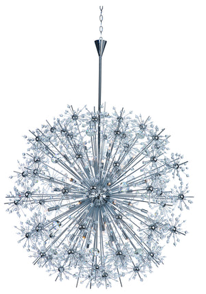 Maxim - 39747BCPC - 40 Light Chandelier - Starfire - Polished Chrome