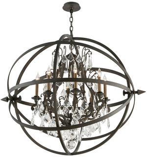 Troy Lighting - F2998 - Eight Light Chandelier - Byron - Vintage Bronze
