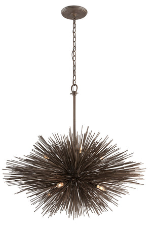 Troy Lighting - F3668 - Eight Light Pendant - Uni - Tide Pool Bronze