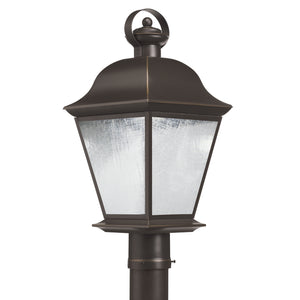Kichler - 9909OZLED - One Light Outdoor Post Mount - Mount Vernon - Olde Bronze