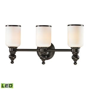 Elk Lighting - 11592/3-LED - Three Light Vanity - Bristol - Oil Rubbed Bronze