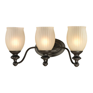 Elk Lighting - 11652/3 - Three Light Vanity - Park Ridge - Oil Rubbed Bronze