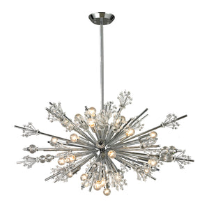 Elk Lighting - 11752/24 - 24 Light Chandelier - Starburst - Polished Chrome