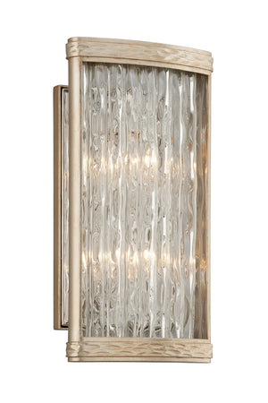 Corbett Lighting - 193-12 - Two Light Wall Sconce - Pipe Dream - Silver Leaf