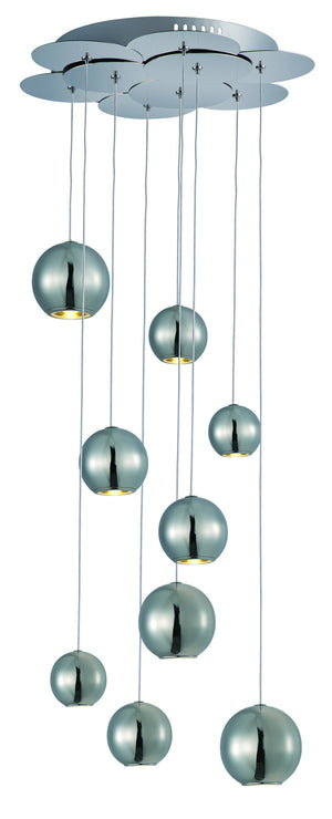 ET2 - E22196-PC - LED Linear Pendant - Bollero - Polished Chrome