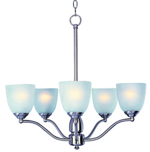 Maxim - 10065FTSN - Five Light Chandelier - Stefan - Satin Nickel