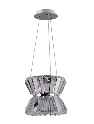 Allegri - 11276-010-FR001 - One Light Mini Pendant - Armanno - Chrome