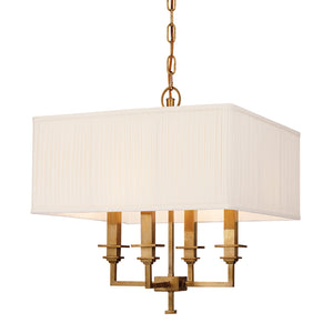 Hudson Valley - 244-AN - Four Light Chandelier - Berwick - Antique Nickel