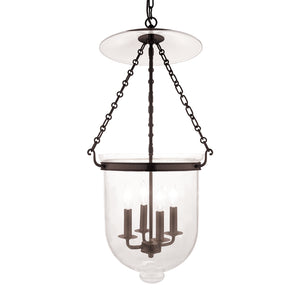 Hudson Valley - 255-OB-C1 - Four Light Pendant - Hampton - Old Bronze