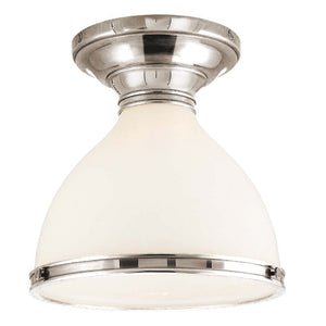 Hudson Valley - 2612-PN - One Light Semi Flush Mount - Randolph - Polished Nickel
