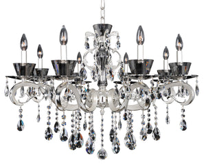 Allegri - 10099-017-FR001 - Eight Light Chandelier - Locatelli - Silver