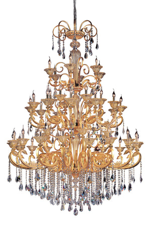 Allegri - 10456-016-FR001 - 48 Light Chandelier - Legrenzi - Gold