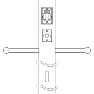 Kichler - 49907AZ - Post w/Ext Photocell & Ladder - Accessory - Architectural Bronze