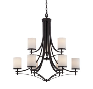 Savoy House - 1-331-9-13 - Nine Light Chandelier - Colton - English Bronze