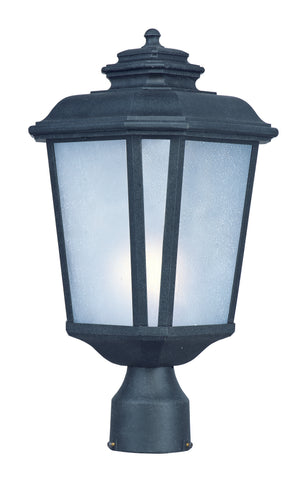 Maxim - 3340WFBO - One Light Outdoor Post Mount - Radcliffe - Black Oxide