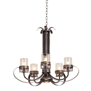 Kalco - 2890VI - Six Light Chandelier - Bexley - Vintage Iron