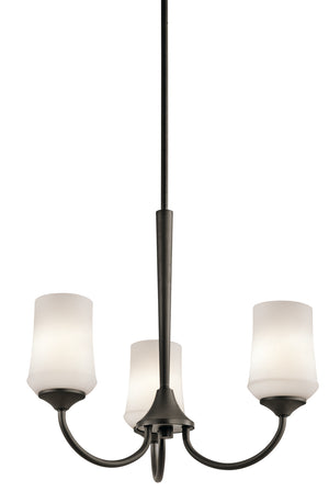 Kichler - 43664OZ - Three Light Chandelier - Aubrey - Olde Bronze