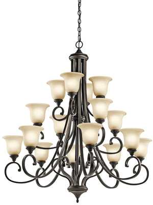 Kichler - 43192OZ - 16 Light Chandelier - Monroe - Olde Bronze
