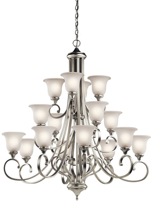 Kichler - 43192NI - 16 Light Chandelier - Monroe - Brushed Nickel