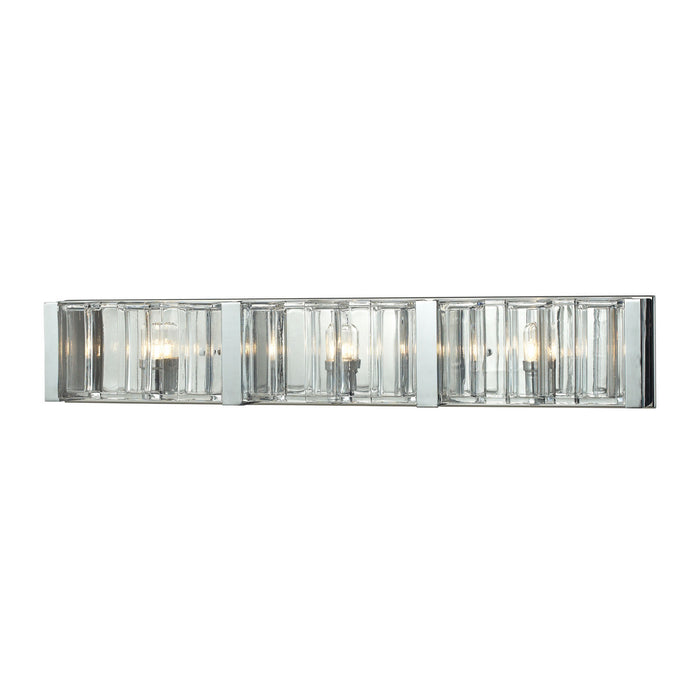 "Elk Lighting Three Light Vanity 29.00"" Polished Chrome"