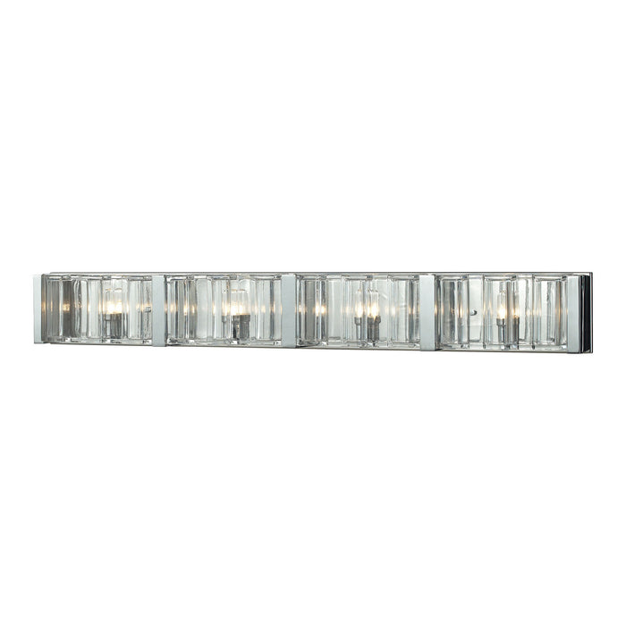 "Elk Lighting Four Light Vanity 38.00"" Polished Chrome"