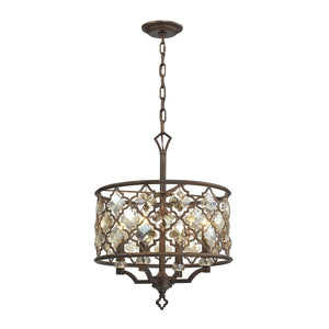 Elk Lighting - 31096/4 - Four Light Pendant - Armand - Weathered Bronze