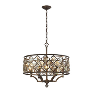 Elk Lighting - 31097/6 - Six Light Pendant - Armand - Weathered Bronze