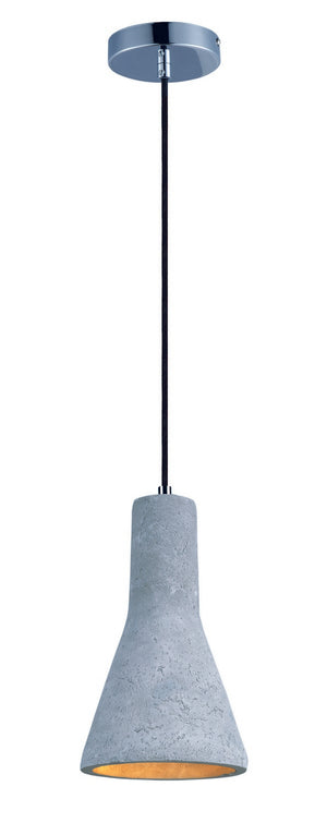 Maxim - 12394GYPC - LED Pendant - Crete - Polished Chrome
