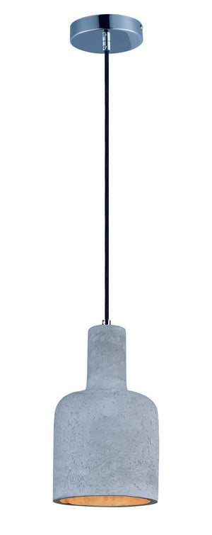 Maxim - 12395GYPC - LED Pendant - Crete - Polished Chrome