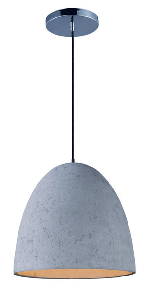 Maxim - 12396GYPC - LED Pendant - Crete - Polished Chrome