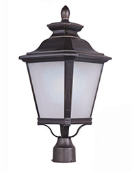 Maxim - 51121FSBZ - LED Outdoor Pole/Post Lantern - Knoxville LED - Bronze