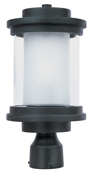 Maxim - 5860CLFTAR - One Light Outdoor Post Mount - Lighthouse - Anthracite