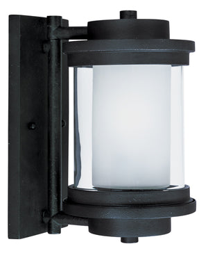 Maxim - 85862CLFTAR - One Light Outdoor Wall Lantern - Lighthouse EE - Anthracite