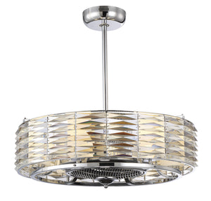 Savoy House - 30-333-FD-11 - LED Fan D`lier - Taurus - Polished Chrome