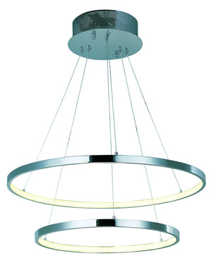 ET2 - E22714-PC - LED Pendant - Hoops LED - Polished Chrome