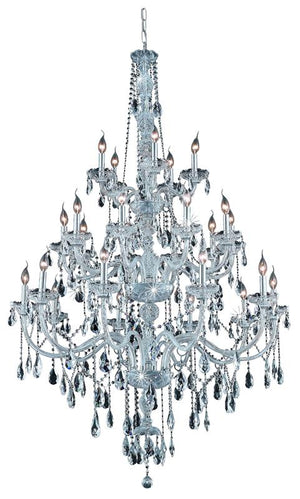 Elegant Lighting - 7925G43C/RC - 25 Light Chandelier - Verona - Chrome