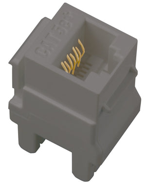 Legrand - AC5ERJ45M1 - Cat 5e RJ45 Data/Phone Insert - Connectivity - Magnesium